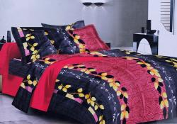 Simal Creation King Size Bedsheet - 100% Fine Cotton - (SI-49)
