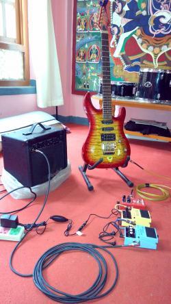 J & D Jd-908 Electric Guitar Floyd-rose Trem Guitar