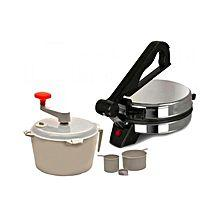 Familiar Electric Roti Maker - Black