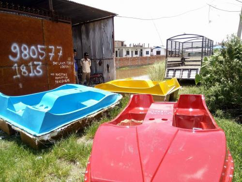 Nepal Fiber Boat