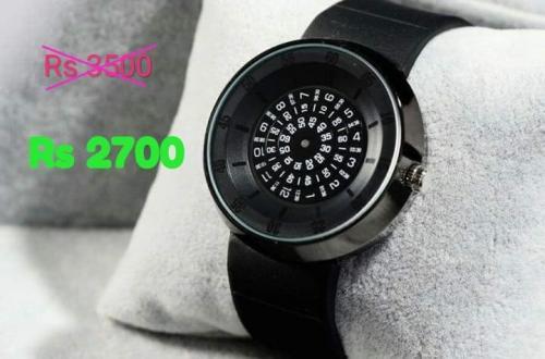 Fucda Unique Analog watch Stainless Steel Quartz Wrist Watch