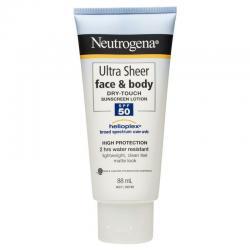 Neutrogena Ultra Sheer Dry-touch Sunblock