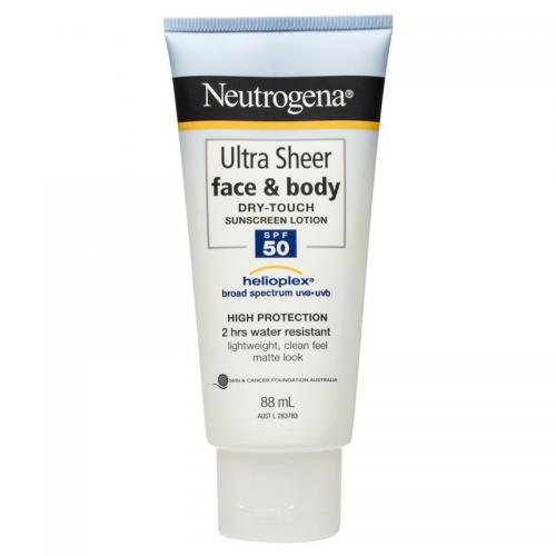 Neutrogena Ultra Sheer Dry-touch Sunblock