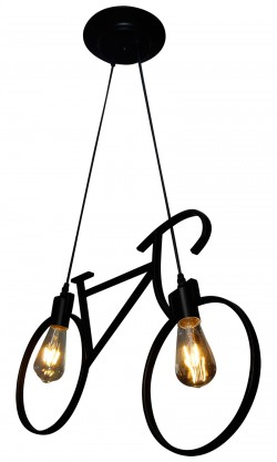 Bicycle Chandelier Lighting Pendant Lamps - Vintage Lamp