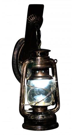 Antique Metal Rustic Wall Lamp - Wall Lantern