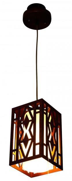 Wooden Hanging Lamp - Indoor Pendant Light