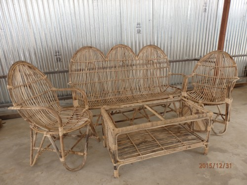 Cane Depak Chairs Set