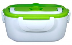 Electric Lunch Box with 2 Separations & 1 Spoon