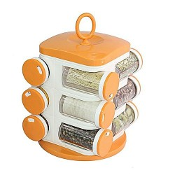 Plastic 12 Pieces Spice Rack
