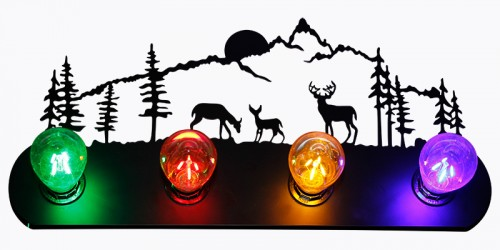 Deer Scenery Wall Lamp - 4 Color Lamp