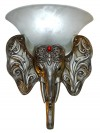 Ganesh Wall Lamp - Excellent Finish