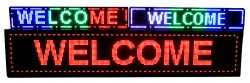 Small LED Display Board - Semi Outdoor LED Sign