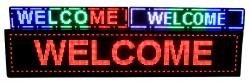 Big LED Display Board - Semi Outdoor LED Sign