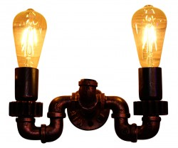 Retro Iron Pipeline Lamp For Restaurant Bar & Cafe