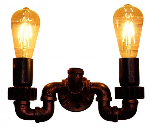 Retro Iron Pipeline Lamp For Restaurant Bar & Cafe