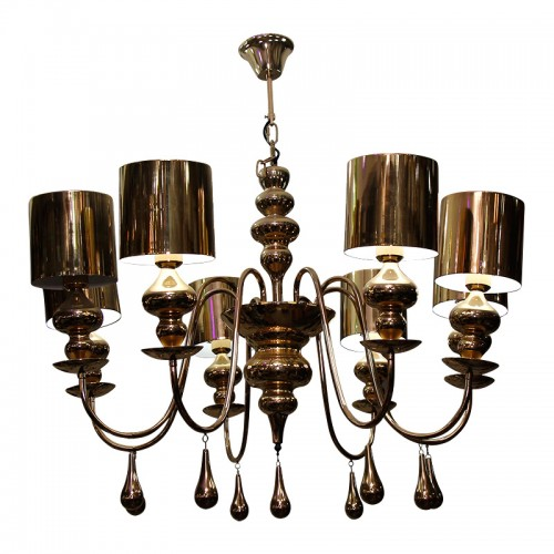 Classic European Style Brass Pendant Light