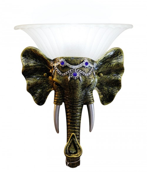 Ganesh Wall Lamp Small Size - Excellent Finishing
