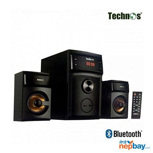 Technos LA-160F 2.1 MM Bluetooth Speaker - (Black)