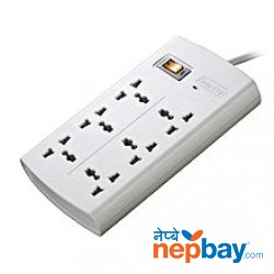 Huntkey SZM604 6-Port Surge Protector - White