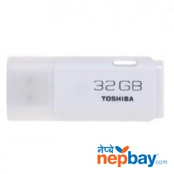Toshiba UHYBS-032GH USB 2.0 32 GB Flash Pen Drive - White