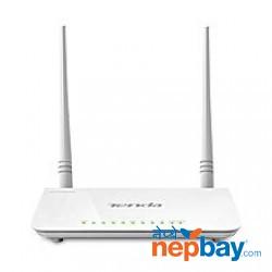 Tenda D303 Wireless N300 ADSL 2+/3G Modem Router - White