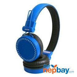 Prolink PHC1003E Frolic Corded Stereo Headset - Blue