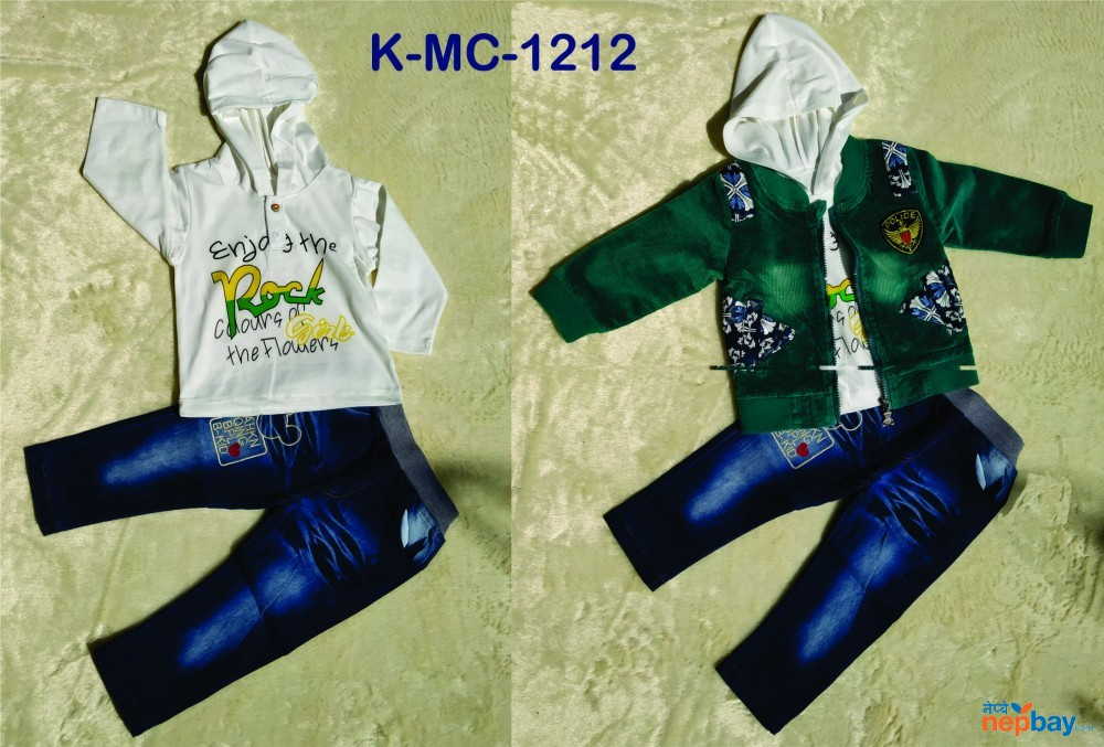 Baby Boys 3 Piece set  K-MC-1212