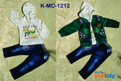 Baby Boys 3 Piece set  K-MC-1212