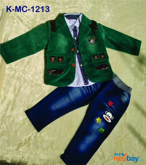 Baby Boys 3 Piece set K-MC-1213