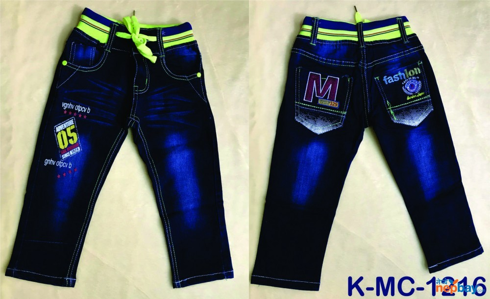 Baby Boys Jeans Pant  K-MC-1216