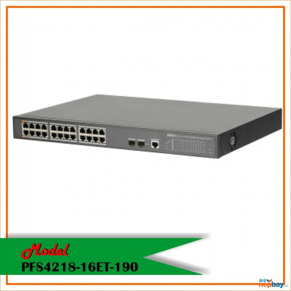 Dahuwa Switch-PFS4218-16ET-190