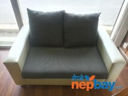 2 seaters sofa with cushions