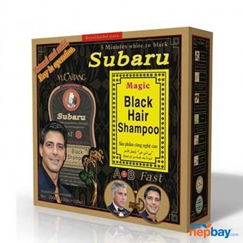 Black hair shampoo