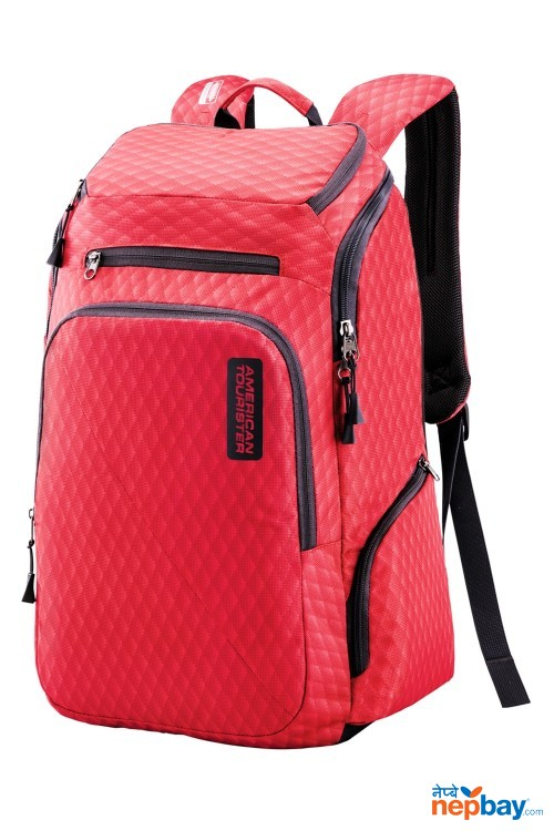 American Tourister Acro plus Laptop backpack 03 Red