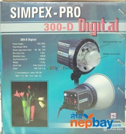 Simpex Pro 300d Studio Photo Light With Softbox