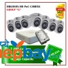 7 Hikvision HD POC Camera Set Package G