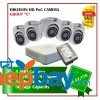 5 Hikvision HD POC Camera Set Package E