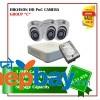 3 Hikvision HD POC Camera Set Package C