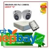 2 Hikvision HD POC Camera Set Package B