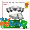 5 Hikvision AHD Exir Camera Set Package E