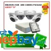 4 Hikvision AHD Exir Camera Set Package D