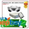 3 Hikvision AHD Exir Camera Set Package C