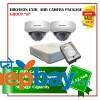 2 Hikvision AHD Exir Camera Set Package B