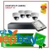 Startups IP Camera Set Package D