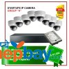 Satrtups IP Camera Set Package H