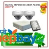 2 Hikvision 5MP Exir Camera Set Package B