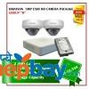 2 Hikvision 5MP Exir Camera Set Package B