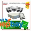 5 Hikvision 5MP Exir Camera Set Package E
