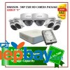 6 Hikvision 5MP Exir Camera Set Package F