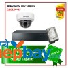 1 Hikvision IP camera Set Package A